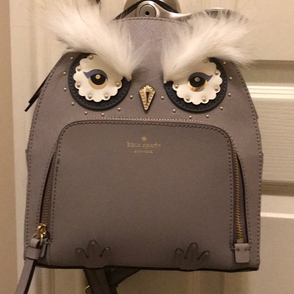 7a38ff65df1dc Kate Spade Star Bright Owl Tomi Mini Backpack